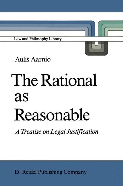 The Rational as Reasonable | Aarnio, 1986 | Buch (Cover)