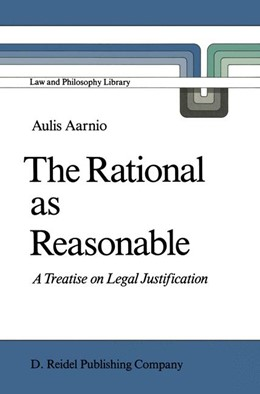 Abbildung von Aarnio | The Rational as Reasonable | 1986 | A Treatise on Legal Justificat... | 4