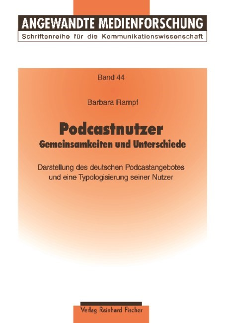 Podcastnutzer | Rampf, 2009 | Buch (Cover)