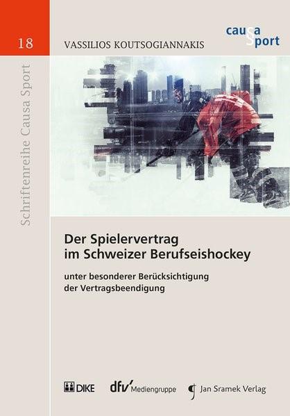 Der Spielervertrag im Schweizer Berufseishockey | Koutsogiannakis | Buch (Cover)