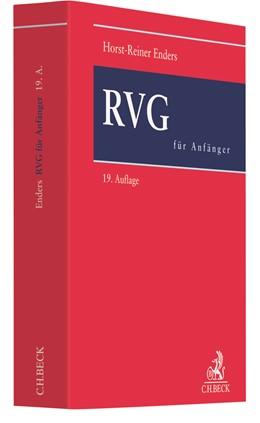 Abbildung von Enders | RVG für Anfänger | 19. Auflage | 2019