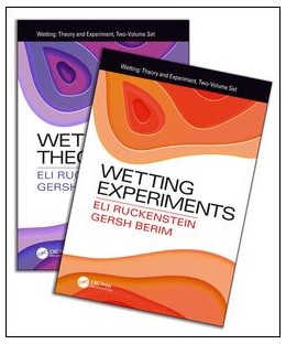 Abbildung von Ruckenstein / Berim | Wetting: Theory and Experiments, Two-Volume Set | 1. Auflage | 2018 | beck-shop.de