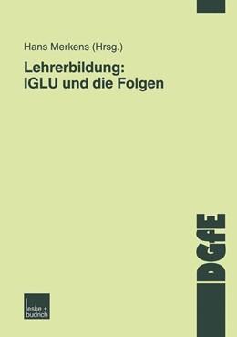 Abbildung von Merkens   Lehrerbildung: IGLU und die Folgen   2004