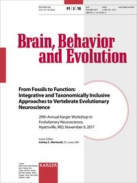 From Fossils to Function: Integrative and Taxonomically Inclusive Approaches to Vertebrate Evolutionary Neuroscience | Morhardt, 2018 | Buch (Cover)