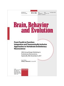 Abbildung von Morhardt   From Fossils to Function: Integrative and Taxonomically Inclusive Approaches to Vertebrate Evolutionary Neuroscience   2018   29th Annual Karger Workshop in...