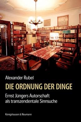Abbildung von Rubel   Die Ordnung der Dinge   1. Auflage   2018   beck-shop.de