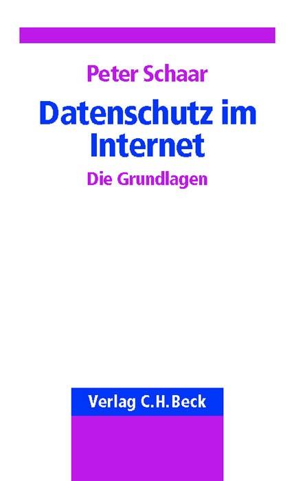 Datenschutz im Internet | Schaar, 2002 | Buch (Cover)