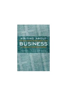 Abbildung von Thompson | Writing About Business | 2000 | The New Knight-Bagehot Guide t...