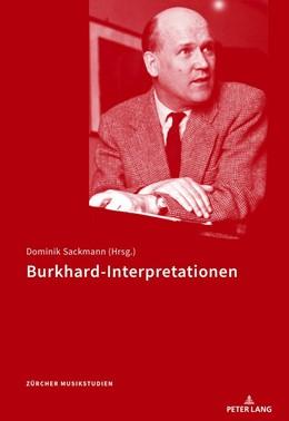 Abbildung von Sackmann | Burkhard-Interpretationen | 1. Auflage | 2018 | beck-shop.de