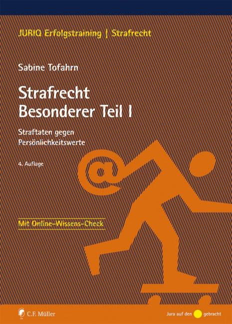 Strafrecht Besonderer Teil I | Tofahrn | 4., neu bearbeitete Auflage, 2018 | Buch (Cover)