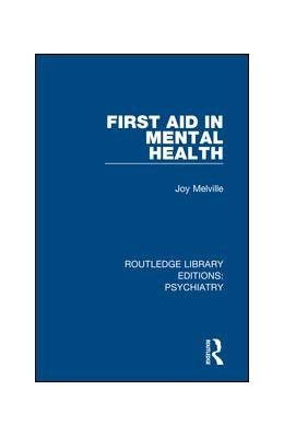 Abbildung von Melville | First Aid in Mental Health | 2018 | 16