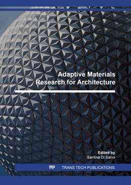 Abbildung von Di Salvo | Adaptive Materials Research for Architecture | 2018 | Volume 1149