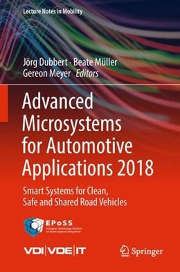 Abbildung von Dubbert / Müller | Advanced Microsystems for Automotive Applications 2018 | 1. Auflage | 2018 | beck-shop.de