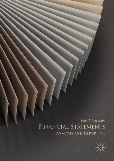Financial Statements | Lessambo | 1st ed. 2018, 2018 | Buch (Cover)