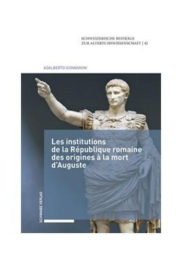 Abbildung von Giovannini | Les institutions de la République romaine des origines à la mort d'Auguste | 2018 | 42