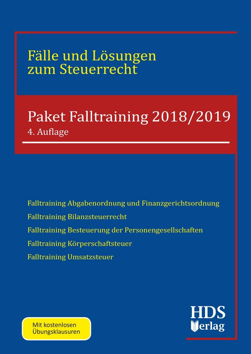 Paket Falltraining 2018/2019 | Fränznick / Wall / Schröder / Schneider / Klein / Neudert, 2018 | Buch (Cover)