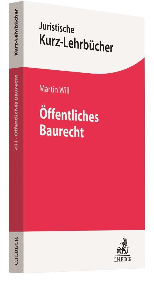 Öffentliches Baurecht | Will, 2018 | Buch (Cover)