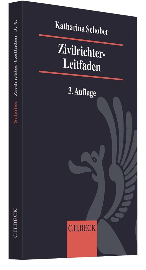 Zivilrichter-Leitfaden | Schober | 3. Auflage, 2019 | Buch (Cover)
