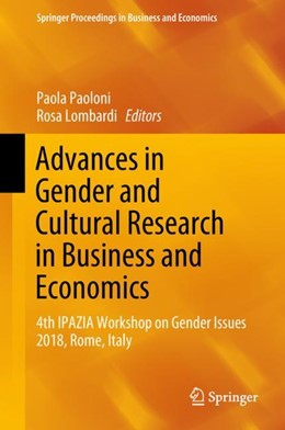 Abbildung von Paoloni / Lombardi | Advances in Gender and Cultural Research in Business and Economics | 1. Auflage | 2018 | beck-shop.de