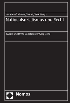 Abbildung von Hermann / Lahusen / Ramm / Saar | Nationalsozialismus und Recht | 2018
