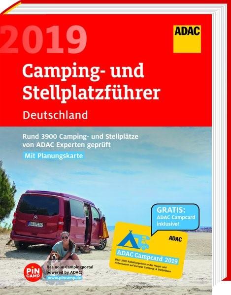 Abbildung von ADAC Camping- und Stellplatzführer Deutschland 2019 | 2019