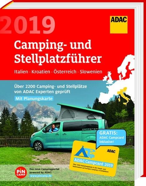 Abbildung von ADAC Camping- und Stellplatzführer Italien, Kroatien, Österreich, Slowenien 2019   2019