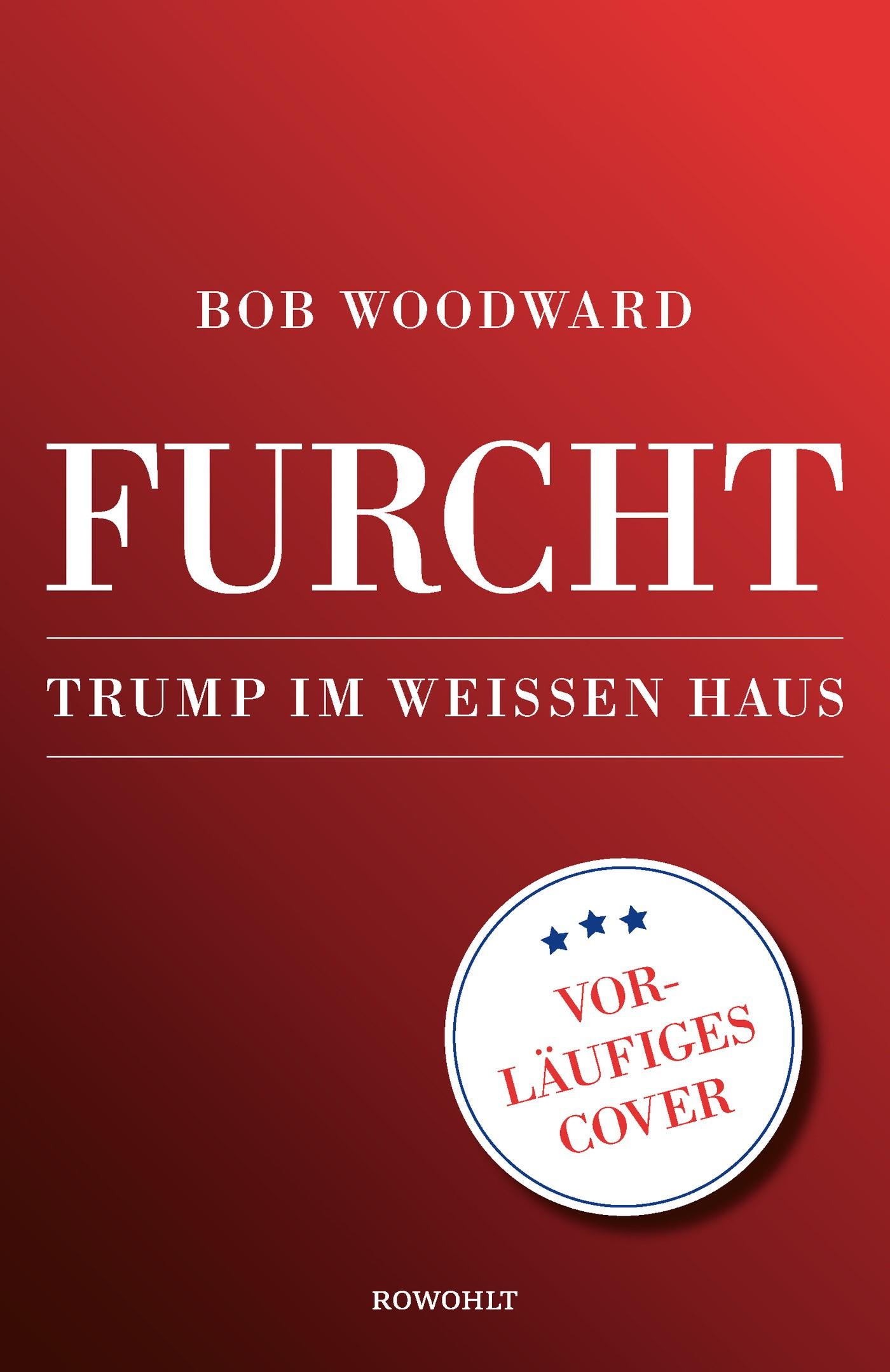 Furcht | Woodward | 1. Auflage, 2018 | Buch (Cover)