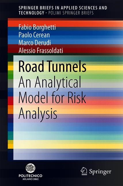 Road Tunnels | Borghetti / Cerean / Derudi | 1st ed. 2019, 2019 | Buch (Cover)