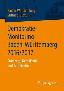 Abbildung von Demokratie-Monitoring Baden-Württemberg 2016/2017 | 1. Auflage | 2019 | beck-shop.de