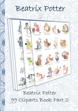 Abbildung von Potter | Beatrix Potter 99 Cliparts Book Part 2 ( Peter Rabbit ) | 2018 | Sticker, Icon, Clipart, Clipar...