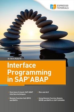 Abbildung von Rubarth   Interface Programming in SAP ABAP   1. Auflage   2018   beck-shop.de
