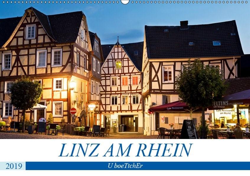 Abbildung von Boettcher | LINZ AM RHEIN (Wandkalender 2019 DIN A2 quer) | 1. Edition 2018 | 2018