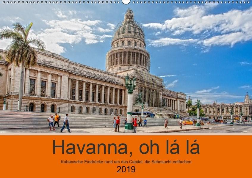 Abbildung von Abel | Havanna o la la (Wandkalender 2019 DIN A2 quer) | 1. Edition 2018 | 2018