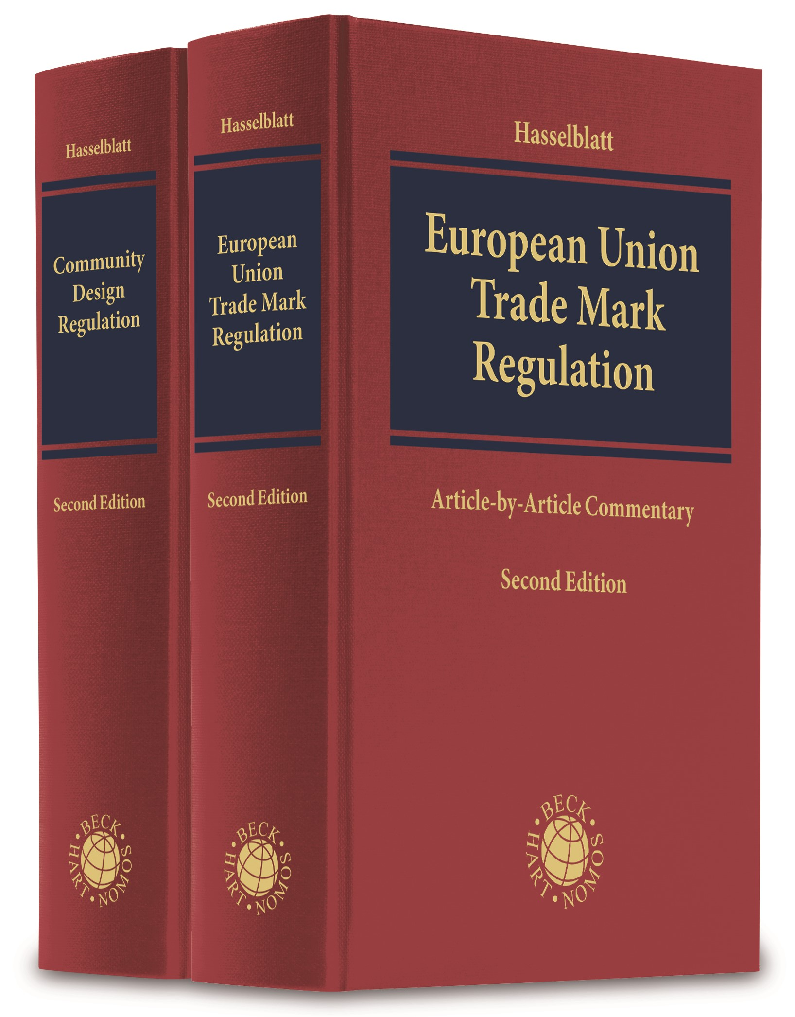Community Trade Mark and Design Regulation | Hasselblatt | 2. Auflage, 2018 | Buch (Cover)