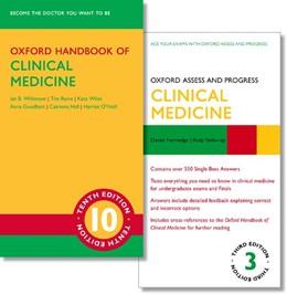 Abbildung von Wilkinson / Sinharay / Furmedge | Oxford Handbook of Clinical Medicine 10e and Oxford Assess and Progress: Clinical Medicine 3e | 2019