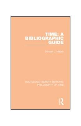 Abbildung von Macey   Time: A Bibliographic Guide   1. Auflage   2018   beck-shop.de