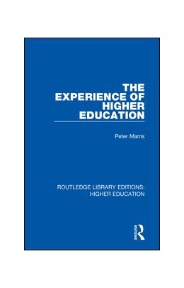 Abbildung von Marris | The Experience of Higher Education | 2018 | 17
