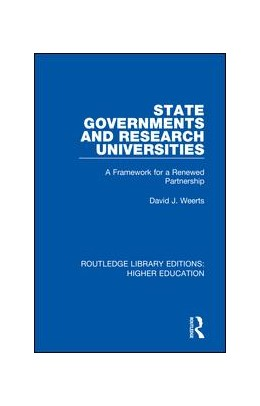 Abbildung von Weerts   State Governments and Research Universities   2018   A Framework for a Renewed Part...   33