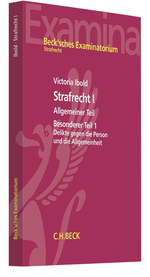 Strafrecht I   Ibold, 2019   Buch (Cover)