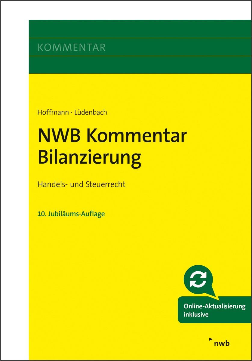 NWB Kommentar Bilanzierung | Hoffmann / Lüdenbach | 10., vollständig überarbeitete und erweiterte Auflage, 2018 (Cover)