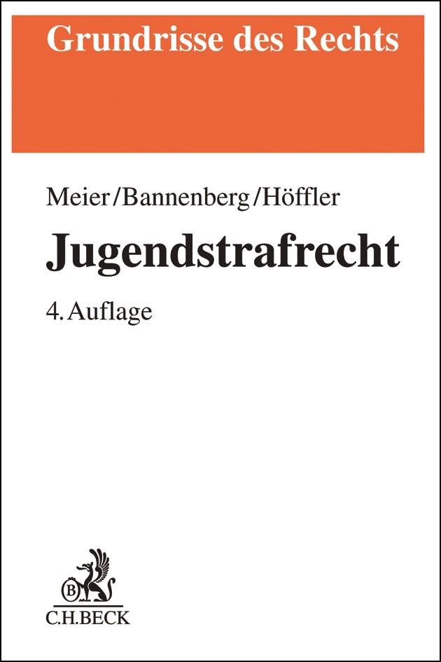 Jugendstrafrecht | Meier / Bannenberg / Höffler | 4. Auflage, 2019 | Buch (Cover)