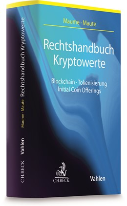 Abbildung von Maume / Maute   Rechtshandbuch Kryptowerte   1. Auflage   2020   beck-shop.de