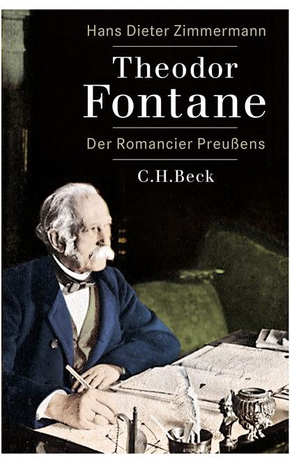 Cover: Hans Dieter Zimmermann, Theodor Fontane