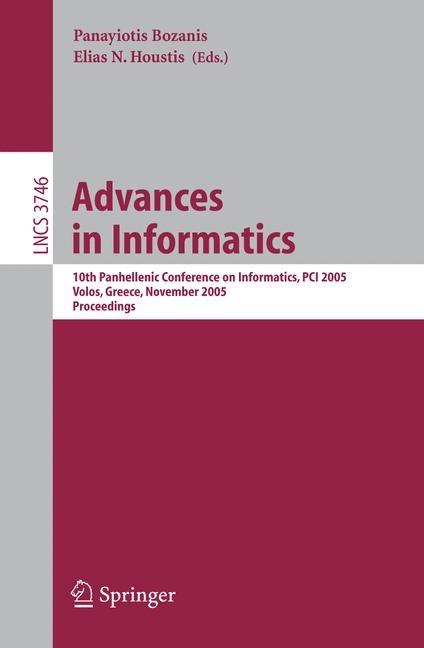 Advances in Informatics | Bozanis / Houstis, 2005 | Buch (Cover)