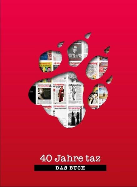 40 Jahre taz - Das Buch, 2018 | Buch (Cover)
