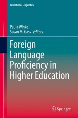 Abbildung von Winke / Gass | Foreign Language Proficiency in Higher Education | 1st ed. 2019 | 2019 | 37