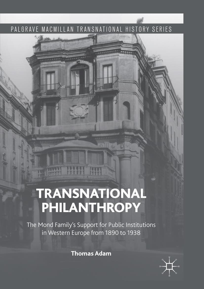 Transnational Philanthropy | Adam | Softcover reprint of the original 1st ed. 2016, 2018 | Buch (Cover)