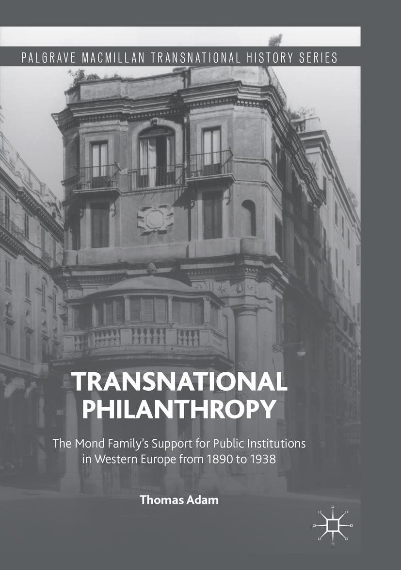 Abbildung von Adam | Transnational Philanthropy | Softcover reprint of the original 1st ed. 2016 | 2018