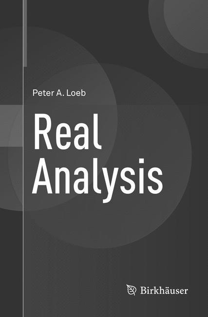 Abbildung von Loeb | Real Analysis | Softcover reprint of the original 1st ed. 2016 | 2018