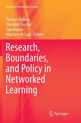 Abbildung von Ryberg / Sinclair | Research, Boundaries, and Policy in Networked Learning | 1. Auflage | 2018 | beck-shop.de